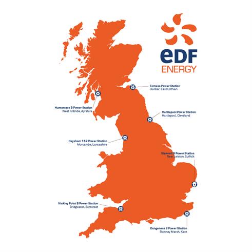 EDF Nuclear Sites