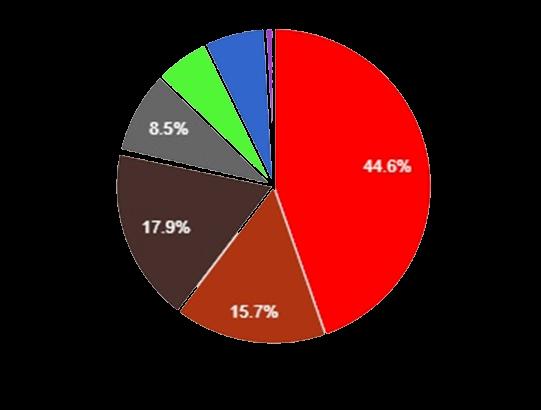 fuel mix pie chart