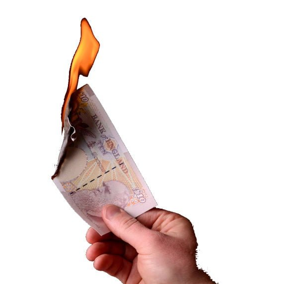 Burning Money on utilities