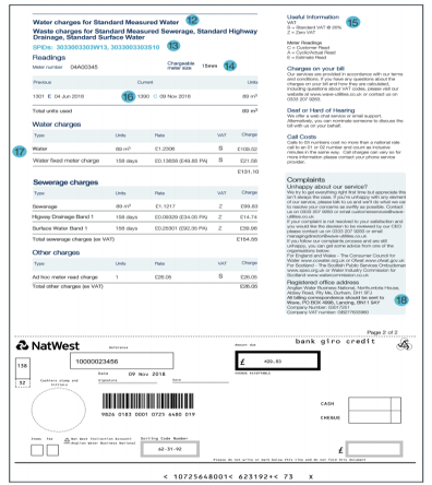 Wave Water Bill Page 2